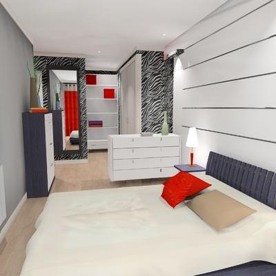 Dormitorio suite vestidor