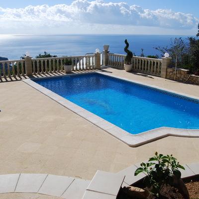 Reforma de una piscina