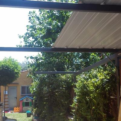 techado exterior