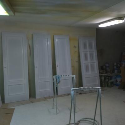 Lacat de portes al taller