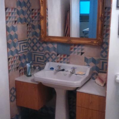 Baño de vivienda reformada