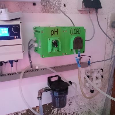 Control y medición de cloro y PH
