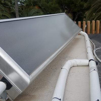 Captador solar ACS