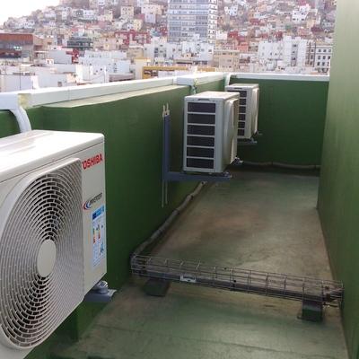 Instalación varias unidades