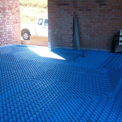 Instalación de suelo radiante para calefacción