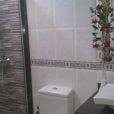 Semi reforma de baño