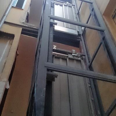 Estructura de ascensor