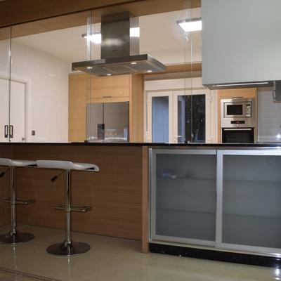 Reforma salón-cocina