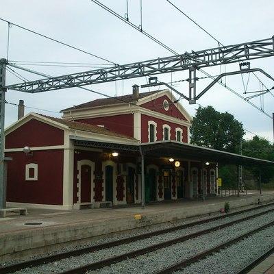 Estacion Renfe Manlleu
