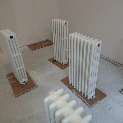 Acabado de radiadores