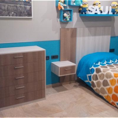 Mobiliario de dormitorios fabricados por Grupo 7 Islas