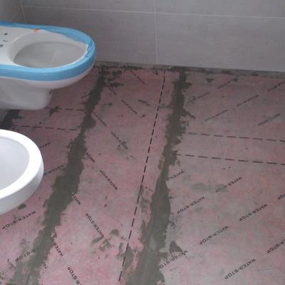 Impermeabilizacion de suelo de baño
