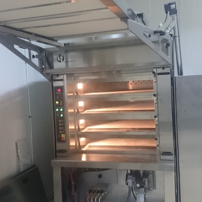Horno de pan con biomasa