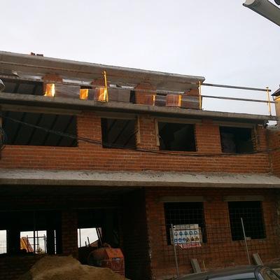 Construcción casa-chalet 3 plantas