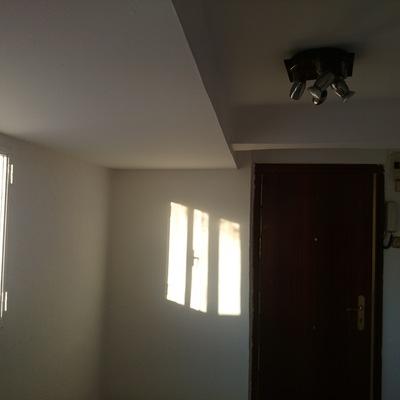 Falso techo, arreglos y pintura