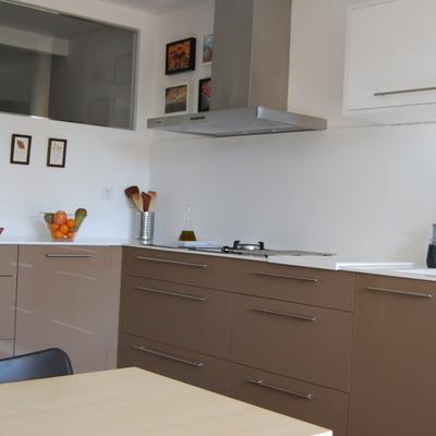 Cocina en Krion