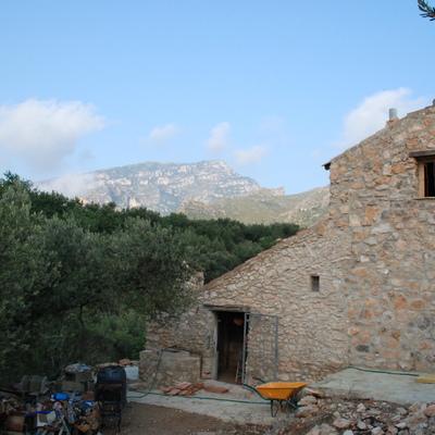 Casa de piedra en Tortossa.(Tarragona).