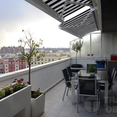 Año 2015. Reforma integral de vivienda realizada por Traber Obras. Madrid, barrio Arganzuela - Delicias.