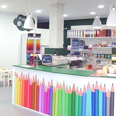 Papelería Papel y lápiz