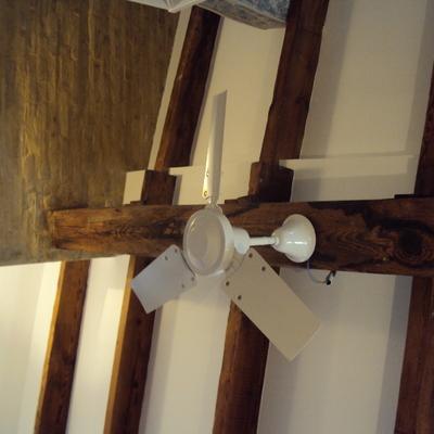 Reforma de techo de vigas de madera