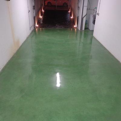 Pavimento de hormigon continuo pulido y abrillantado