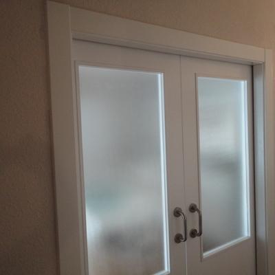 puerta corredera cristal