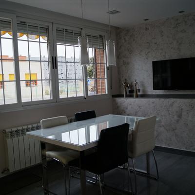 Sala comedor en vivienda