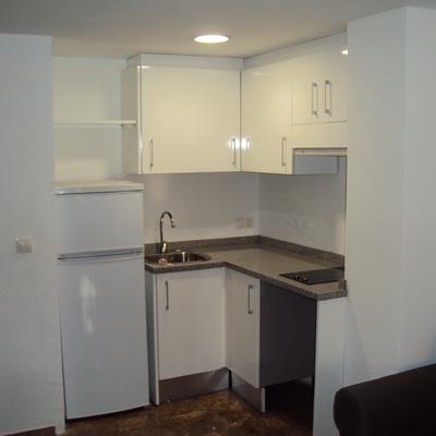 Minicocina en Apartamento