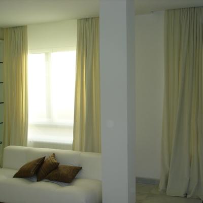 cortinas terciopelo y enrollable