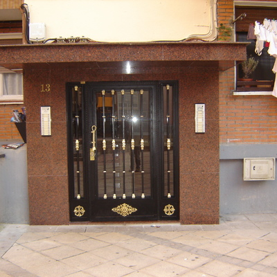 Puerta de Portal reformada