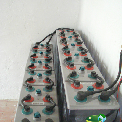 Baterías de instalación fotovoltaica