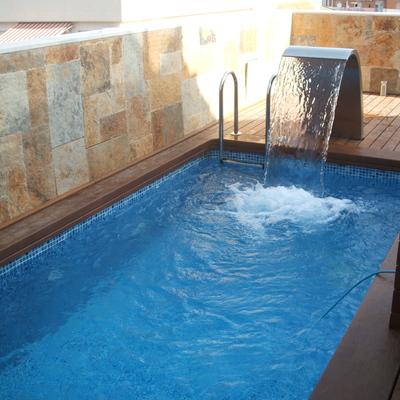 Ideas y fotos de piscinas peque as para inspirarte - Piscinas pequenas precios ...
