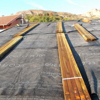 parte superior del tejado
