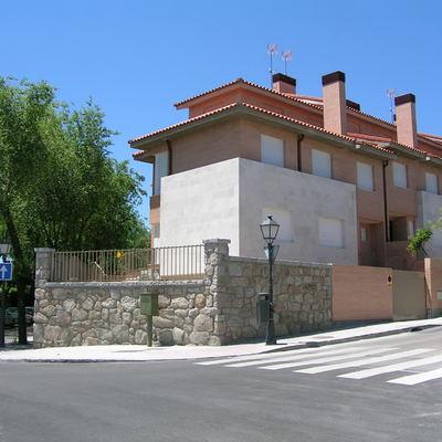 Cuatro viviendas adosadas en Madrid