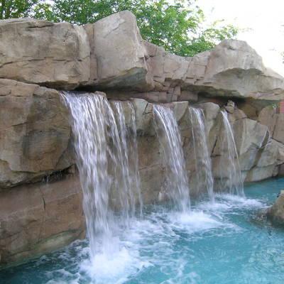 cascada lago