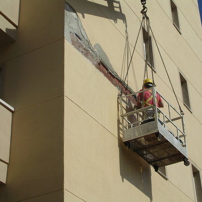 Rehabilitación fachada edificio de viviendas