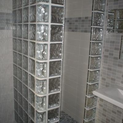 ducha bloques  de paves