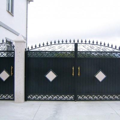 Portales de Aluminio Soldado