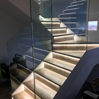 Actuacion en escalera vista