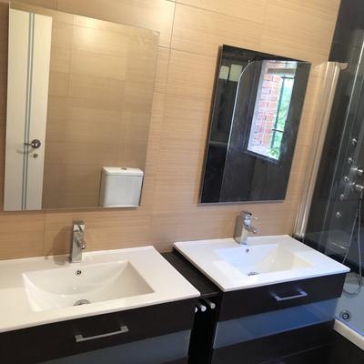 Alicatado baño y colocación de sanitarios y accesorios