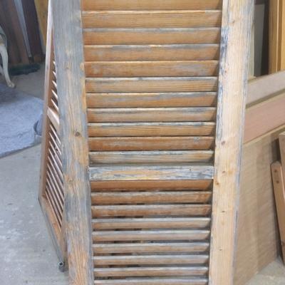 Restauración de persianas de madera