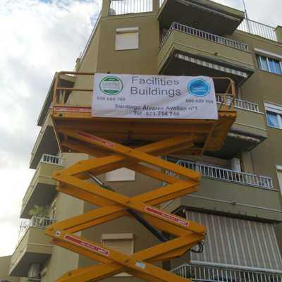 Reparación fachada comunidad