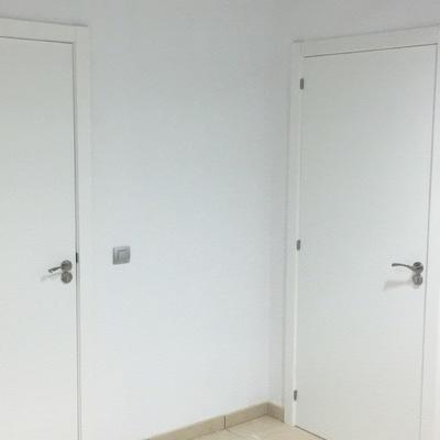 Puertas lacadas blanca