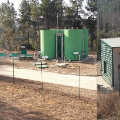Plan de autoprotección estación de aguas residuales