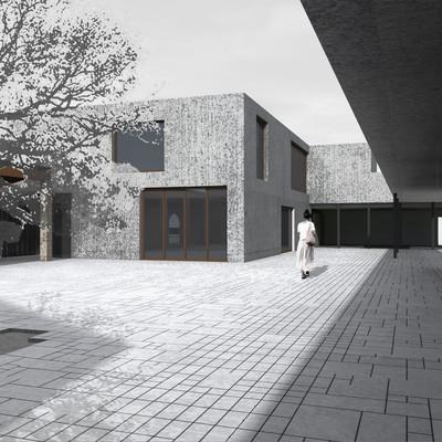 Edificio nueva planta, Centro Cultural en la Helios