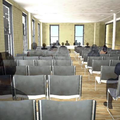 Edificio administrativo 1 (sala prensa)