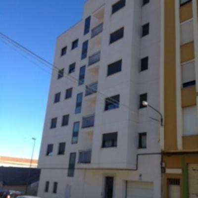 Edificio  de viviendas de lujo.