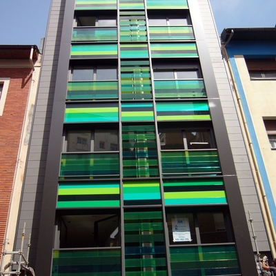 Edificio en c/ Gascona (Oviedo)