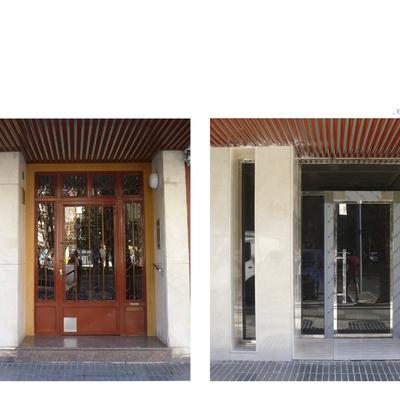 Adecuación de zaguán y bajada a cota de acceso en edificio de viviendas