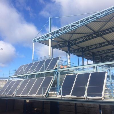 Instalación solar.
